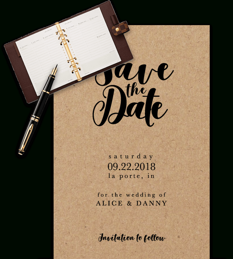 Save The Date Templates For Word [100% Free Download] Pertaining To Save The Date Template Word