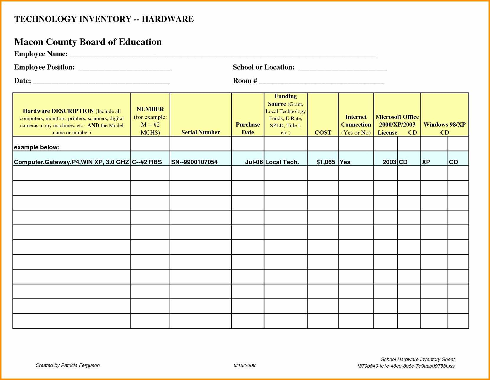 Server Inventory Spreadsheet Free Template Data Center Rack Intended For Data Center Audit Report Template