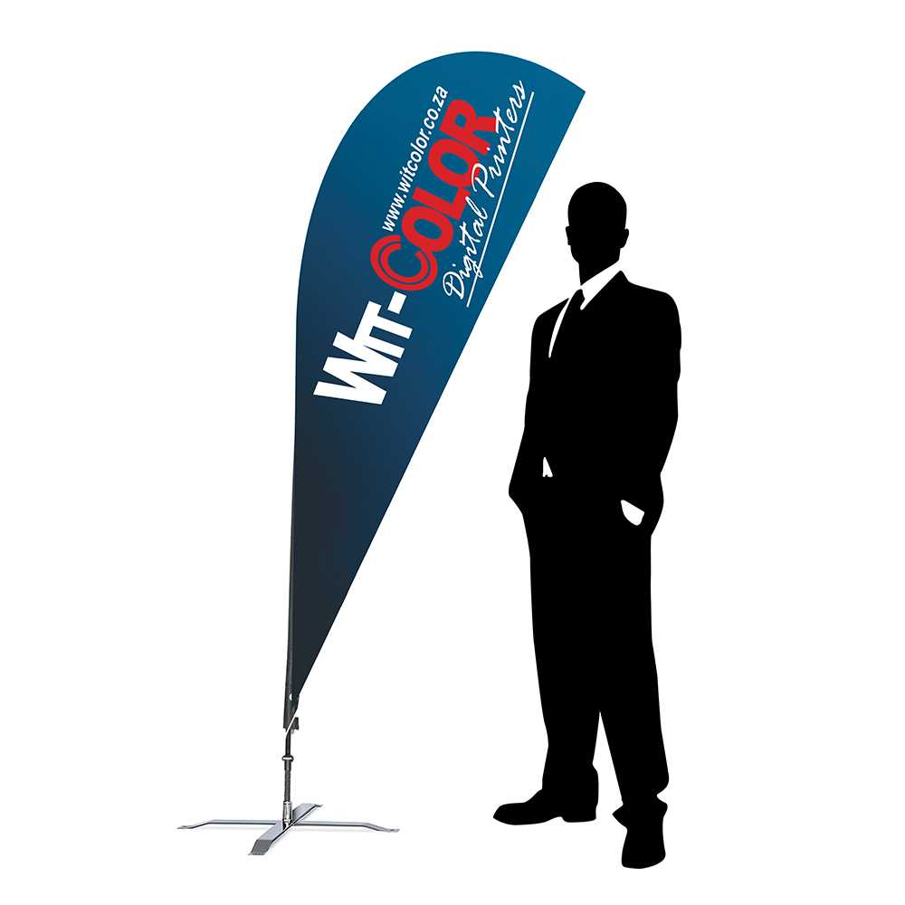 Sharkfin / Teardrop Flags Intended For Sharkfin Banner Template