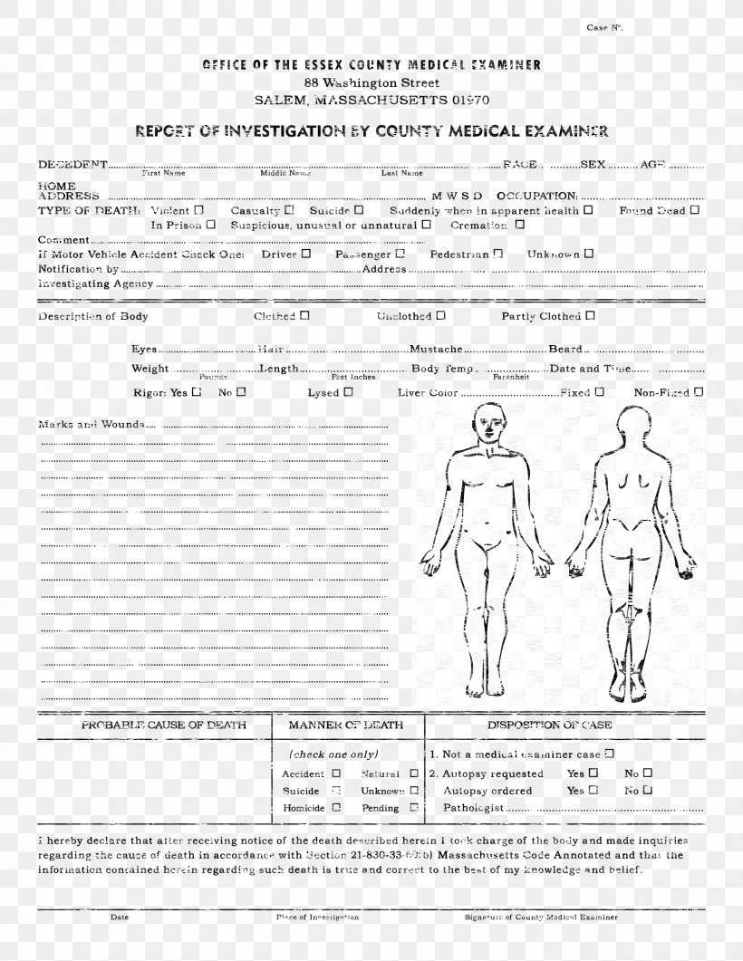 Template Autopsy Microsoft Word Report Résumé, Png In Autopsy Report Template