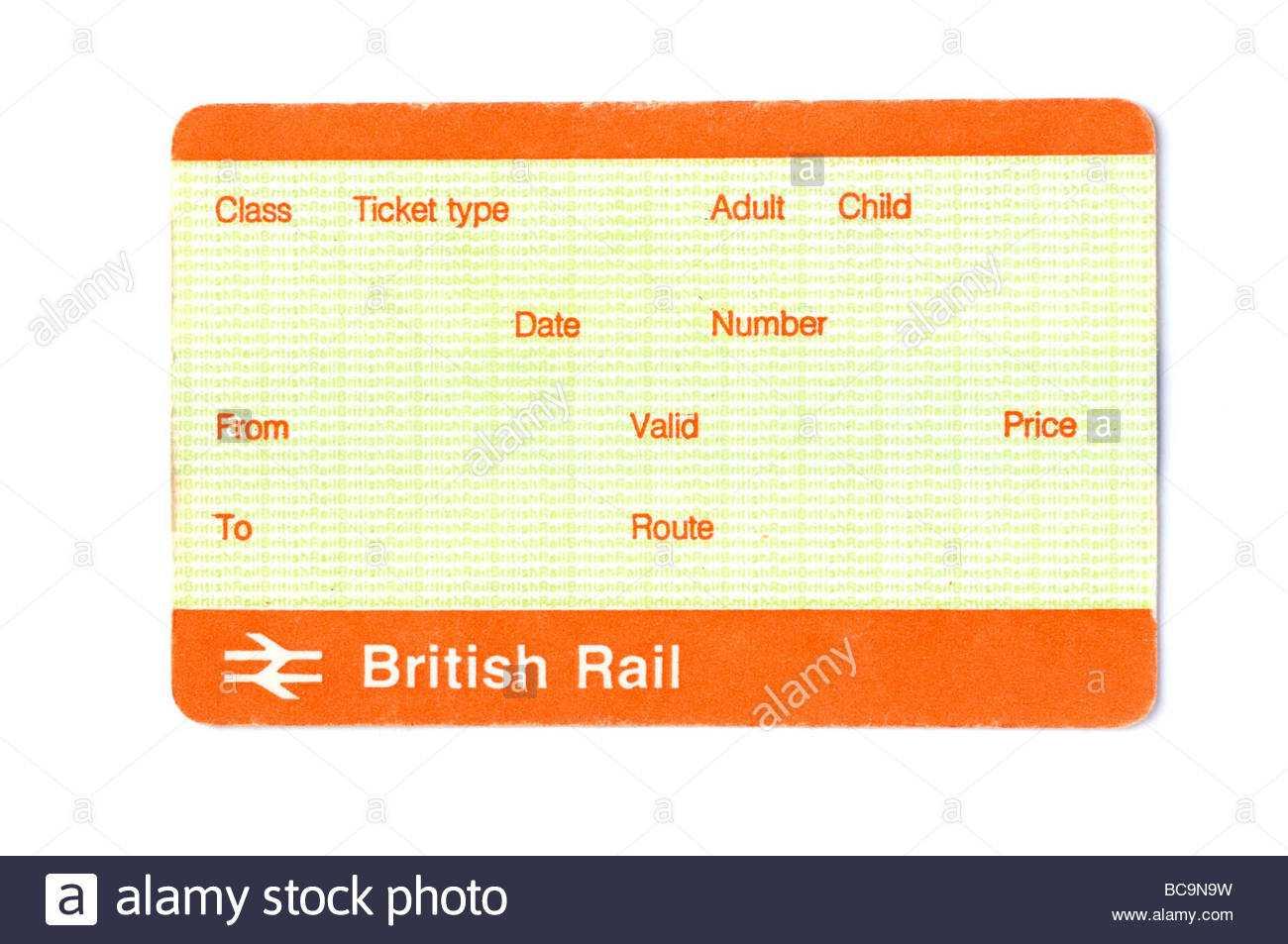 Train Ticket Blank Stock Photos & Train Ticket Blank Stock Throughout Blank Train Ticket Template
