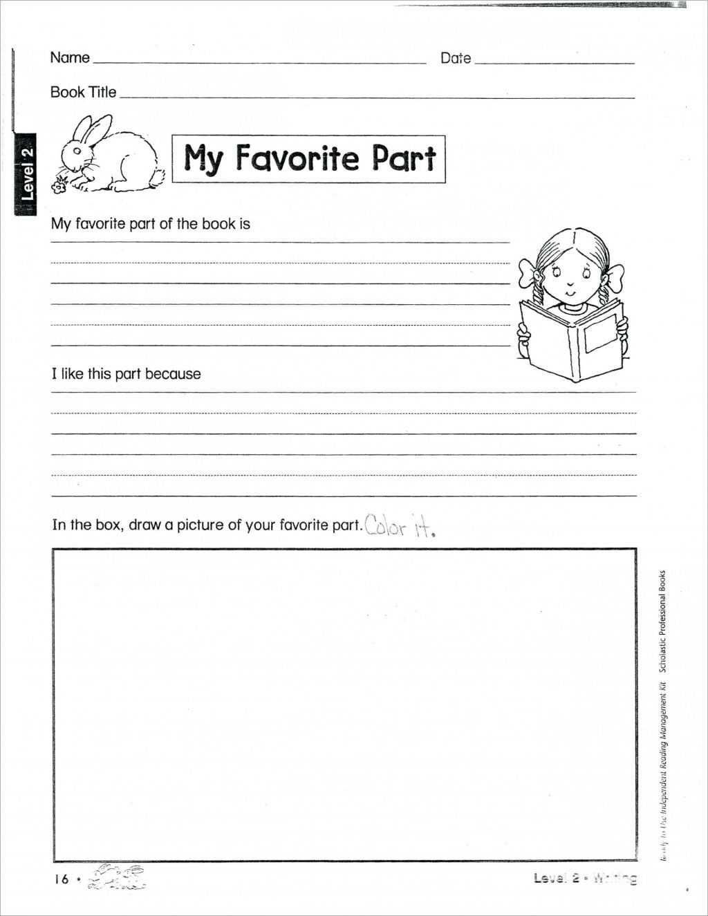 Worksheet Ideas ~ Book Report Template Grade Free Amazing Regarding Book Report Template 2Nd Grade